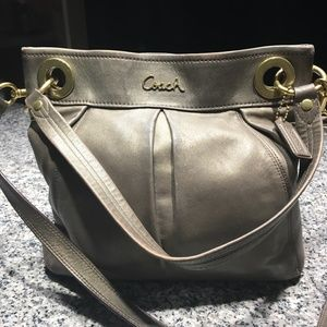 Gorgeous Coach All Leather Crossbody